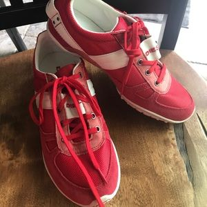 Red Diesel Gym Shoes